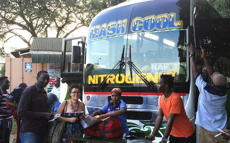 Taking The Bus Between Kampala And Nairobi Try Mash