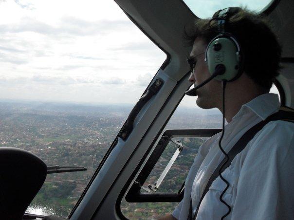 helicopter flight Murchison Falls