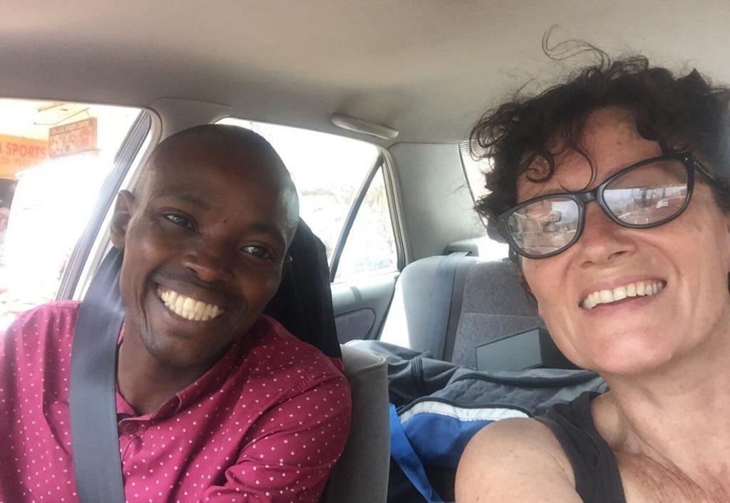 Diary of a Muzungu. Uber driver downtown Kampala