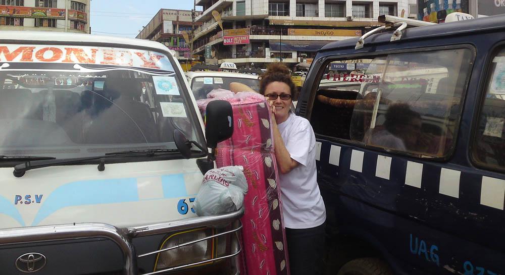 Old taxi Park Kampala Diary of a Muzungu