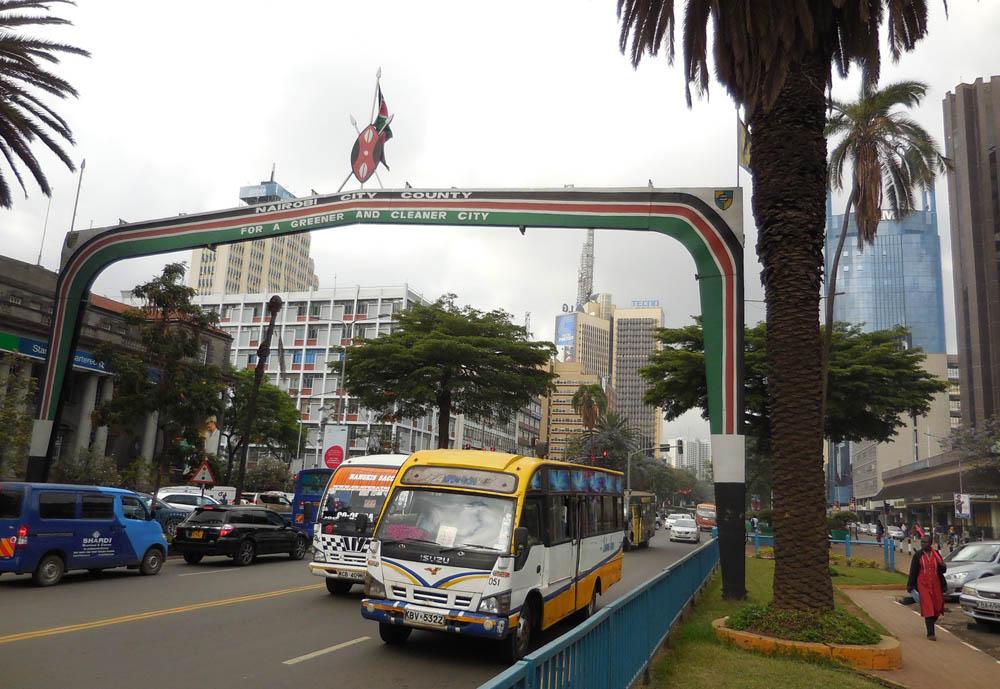 matatus Nairobi streets
