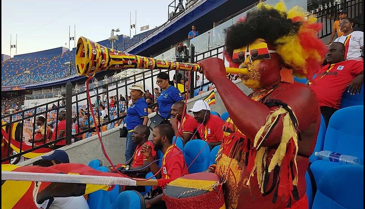 Uganda Cranes fans AFCON2019